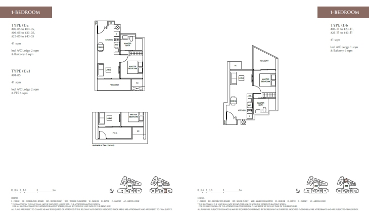 Commonwealth Towers - 1 bedroom