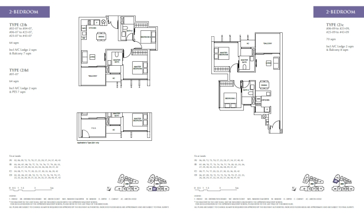 Commonwealth Towers - 2 bedroom