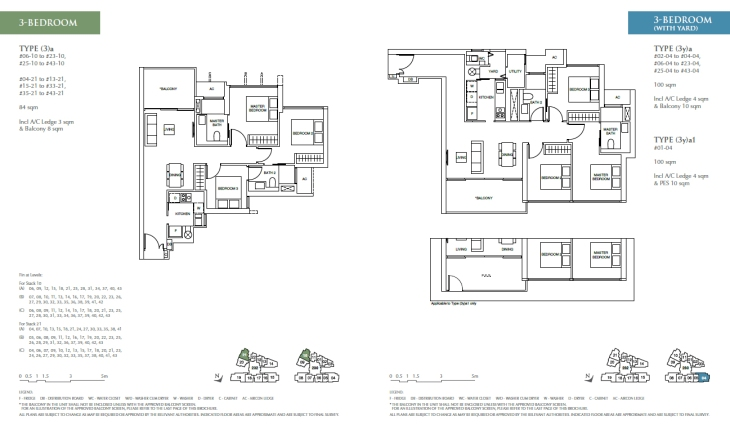 Commonwealth Towers - 3 bedroom