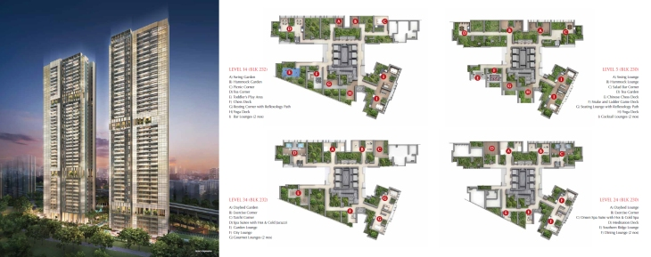 Commonwealth Towers - site plan 1