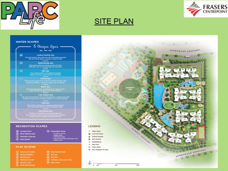 Parc Life EC - Siteplan
