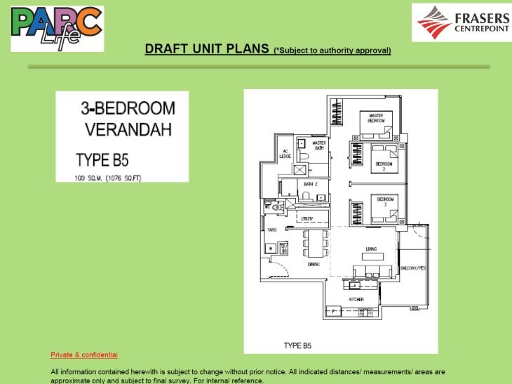 Parc Life EC - Verandah
