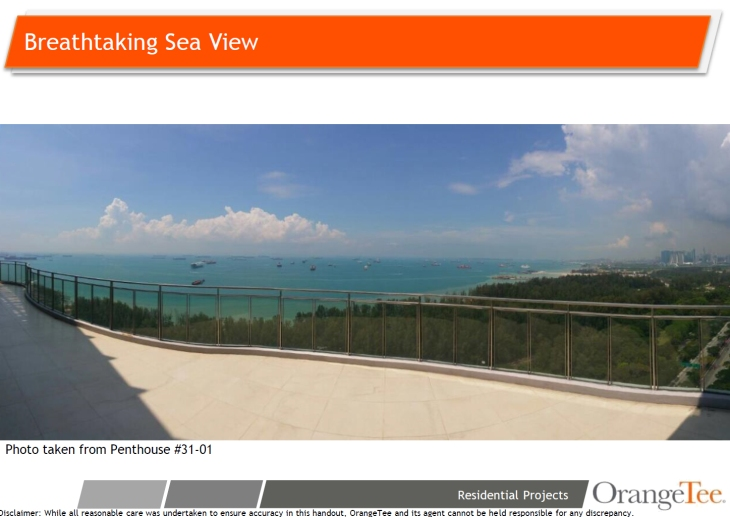 The Meyerise - sea view