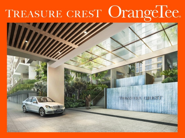 Treasure Crest EC - entrance