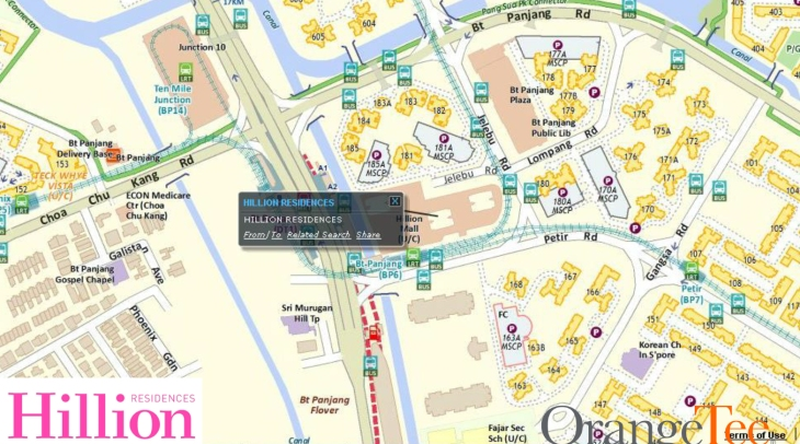 Hillion Residences - Location by Google Map 01.jpg