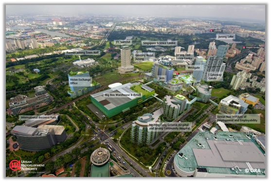 Jurong on track to be the 2nd CBD