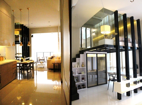 Hillion Residences - 1 Bedroom 463 sqft Showflat