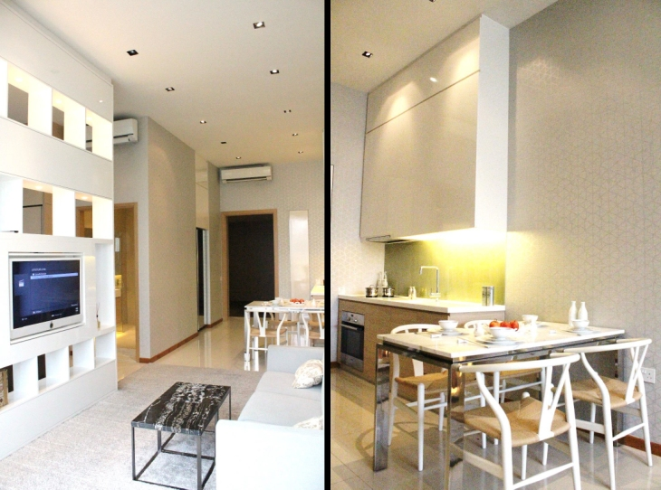 Hillion Residences - 1 Bedroom 474 sqft Showflat