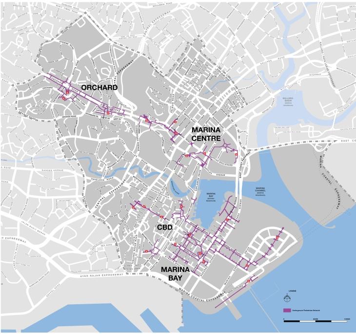 Marina Bay Underground Pedestrian Network